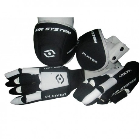 PACK DE GUANTES Y RODILLERAS HOCKEYPLAYER ANATOMIC AIR