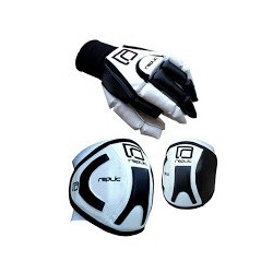 PACK GLOVES AND KNEEPADS R-8 REPLIC