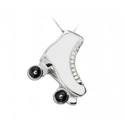JEWEL PENDANT BIG ROLLER SKATE COATED