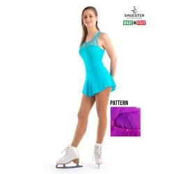 VESTIDO DE LYCRA SAGESTER MODELO 137
