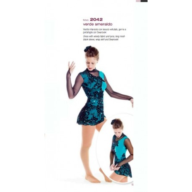 SAGESTER COMPETITION DRESS MODEL 2042