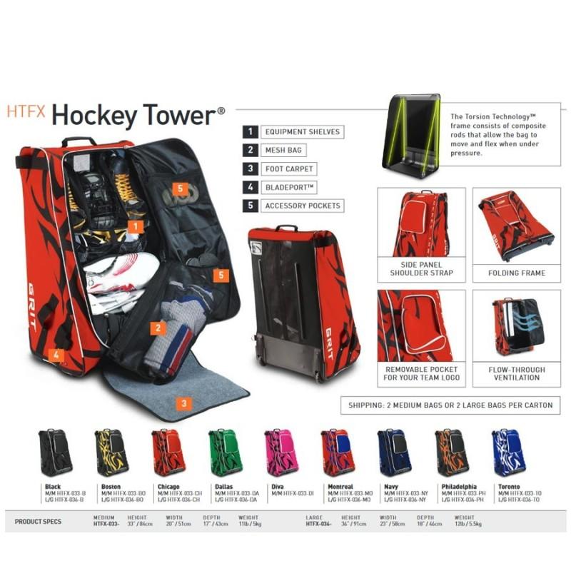 "SPECIAL HOCKEY GRIT TOWER BAG HTSE JUNIOR 33"""