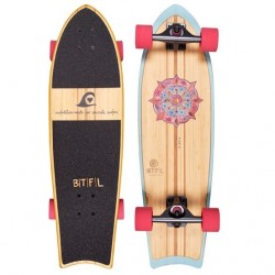 BTFL LONGBOARD - ZOEY - SURFSKATE COMPLETE