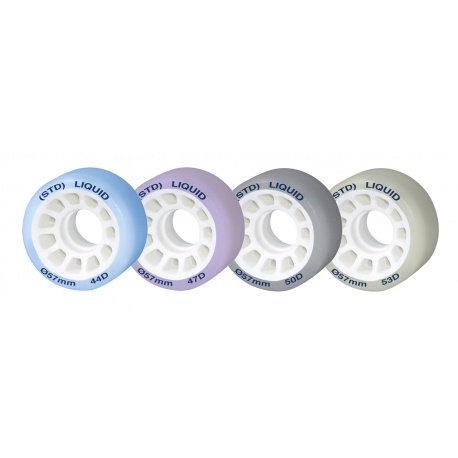 STD LIQUID WHEELS D. 57 MM ROLLART