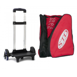 STD SKATES BACKPACK WITH 6-WHEEL TROLEY