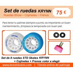 OFERTA ESPECIAL DE RUEDAS STD KRYNN PARA SHOW Y DANZA