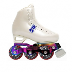 RISPORT AMBRA WITH STD STARLIGHT INLINE FIGURE SKATES