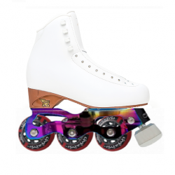 RISPORT ANTARES WITH AVEC STARLIGHT INLINE FIGURE SKATES