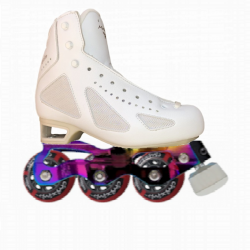 RISPORT MERCURIO WITH STD STARLIGHT INLINE FIGURE SKATE