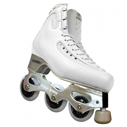 PATIN COMPLETO EDEA ICE FLY CON SNOW WHITE