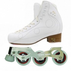 RISPORT ROYAL PRO WITH SNOW WHITE SKATES